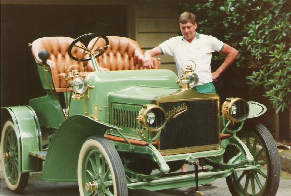 mitchell, 1906 roadster, lewis miller, mitchell car