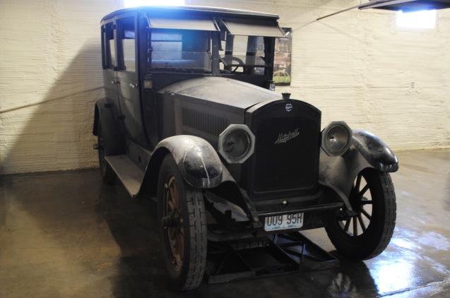 The 1920 Mitchell Sedan.