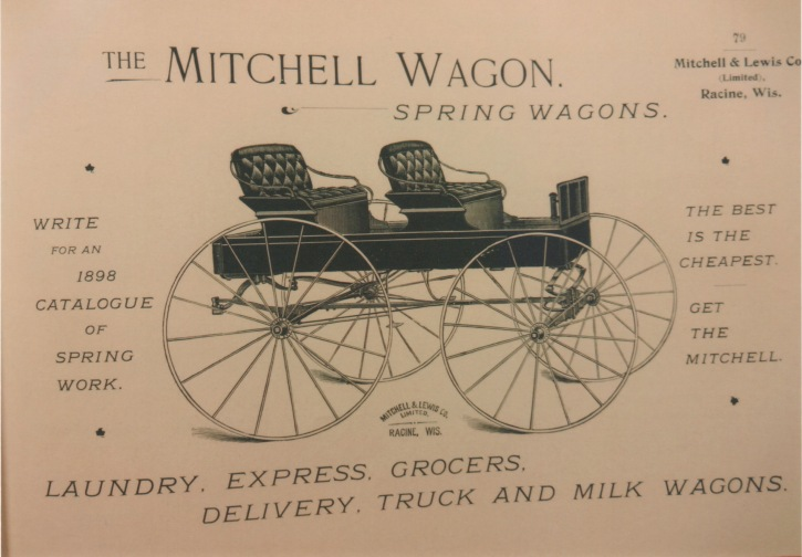 mitchell wagon, spring wagon, mitchell wagon works