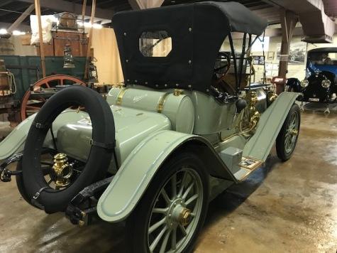 Rear of 1912 Mitchell Speedster
